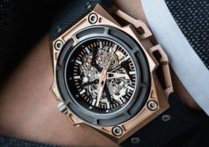 Използване на титана в часовникарството