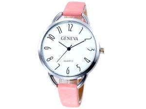 Дамски часовник в розов цвят