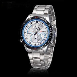 Мъжки часовник с елегантен дизайн и подчертана практичност