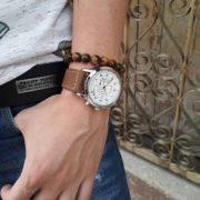 Мъжки часовник в спортно-елегантен стил и модерна визия