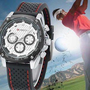 Мъжки часовник със спортен дизайн
