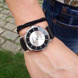Елегантен мъжки ръчен часовник с модерна визия